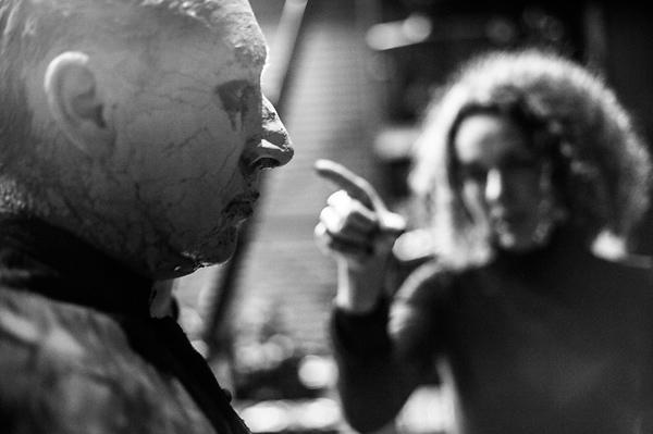 """przegląd charakteryzacji, reżyserka Agata Duda-Gracz, spektakl """"Ojciec"""""""