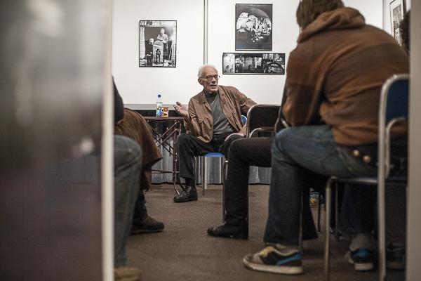 prof. Zbigniew Łagocki w Muzeum Historii Fotografii w Krakowie, fot. Piotr Kubic