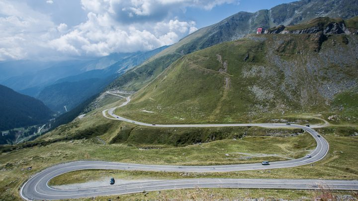 Trasa transfogarska, Rumunia
