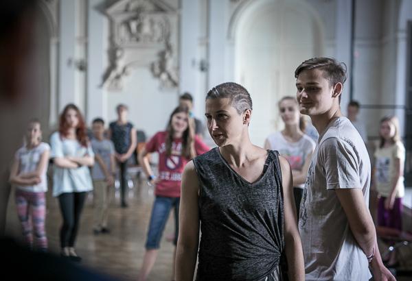 Małgorzata Haduch, choreografka, fot. Piotr Kubic