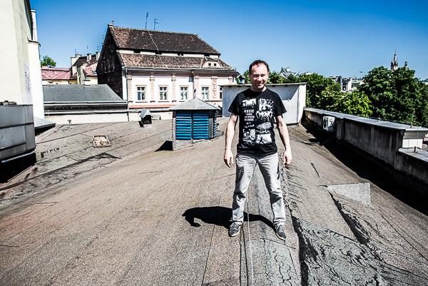Włodzimierz Goraj, wicedyrektor Teatru Bagatela, fot. Piotr Kubic