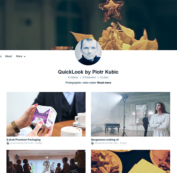 Piotr Kubic na Vimeo.com