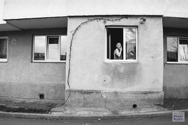 na rumuńskiej ulicy