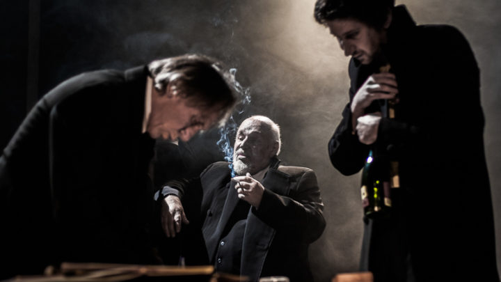 Zbrodnia i kara, próba, fot. Piotr Kubic