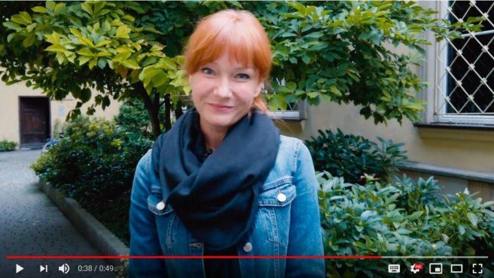 Magdalena Walach przy Scenie na Sarego 7 fot. Piotr Kubic