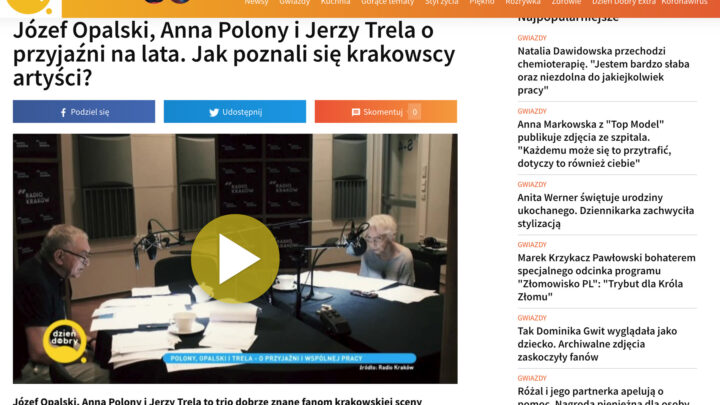 Materiał Piotra Kubica w TVN