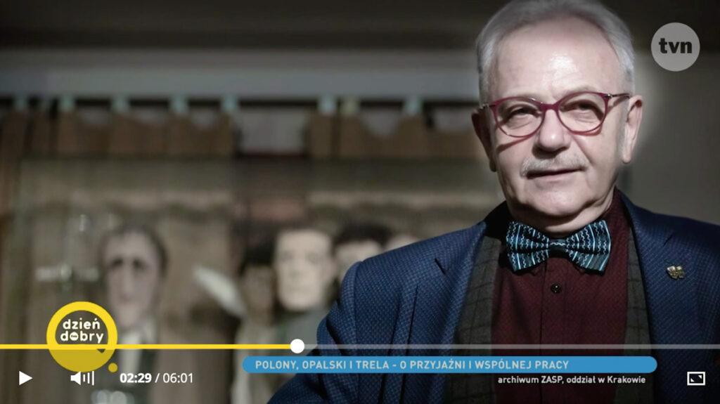 """Józef Opalski w Klubie aktora """"Loża"""""""